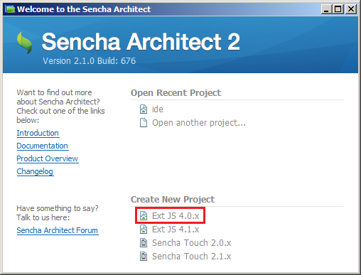 Building UIs for WebSharper with ExtJS Architect